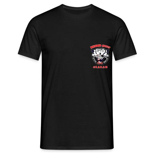 brustlogo aoz0175 - Männer T-Shirt
