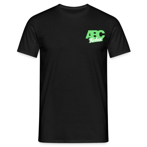 abc carré logo - Men's T-Shirt