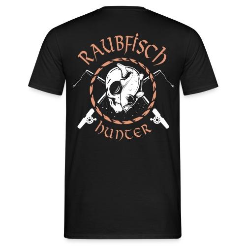 Raubfisch Hunter - Angler Shirt für Herren - Männer T-Shirt