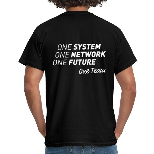 One Team - Herre-T-shirt