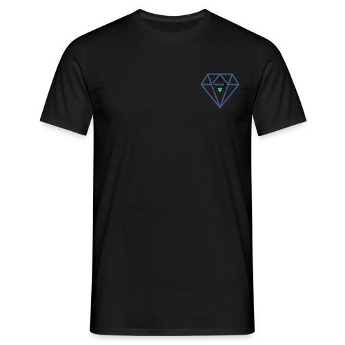 LLK Logo mit FarbDiamant - Männer T-Shirt