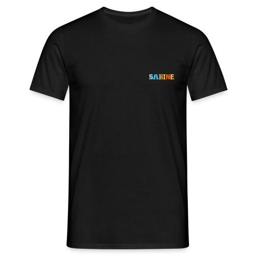 shirt_sabine_600dpi - Männer T-Shirt