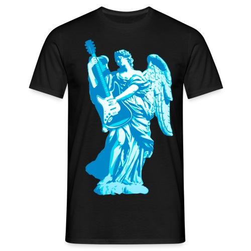 Engel 2018 blauw - Mannen T-shirt