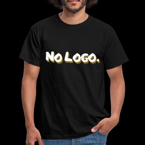 no logo - Männer T-Shirt