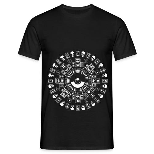 Speaker Mandala - Men's T-Shirt