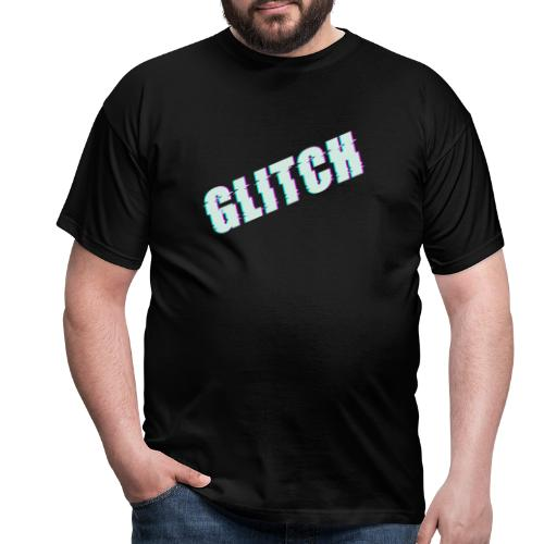 glitch - Männer T-Shirt