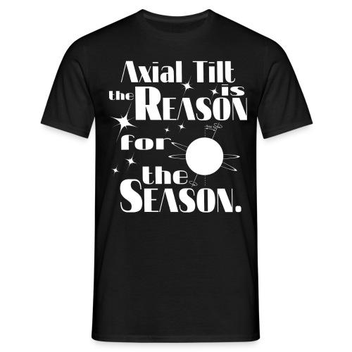 Axial Tilt - Men's T-Shirt