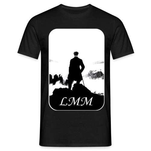 Logo LMM white png - T-shirt Homme