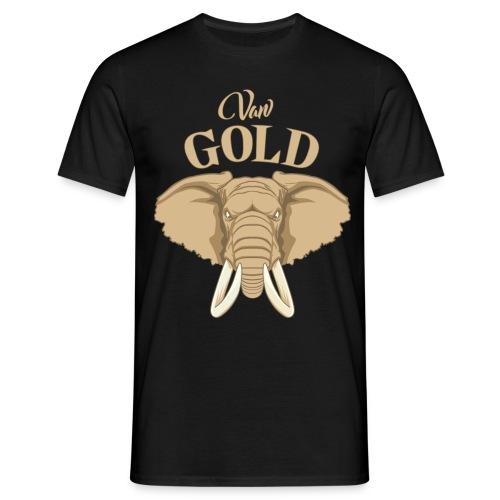 vangold-druck - Männer T-Shirt