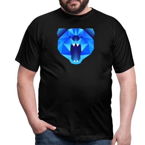 Polygon Bär - Männer T-Shirt