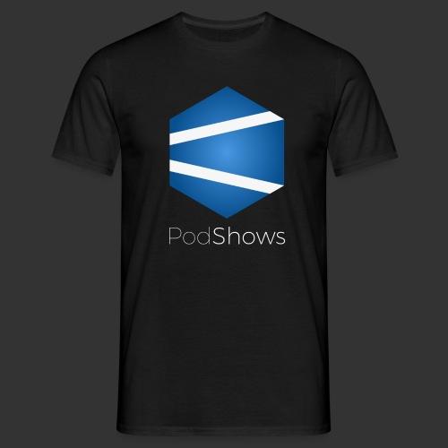 PodShows logo+texte - T-shirt Homme