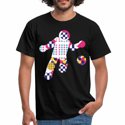 Geometric ball player - Men's T-Shirt