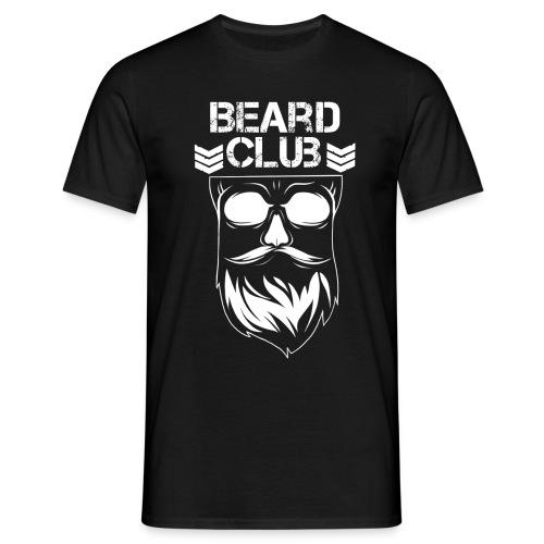 Beard Club weiß - Männer T-Shirt