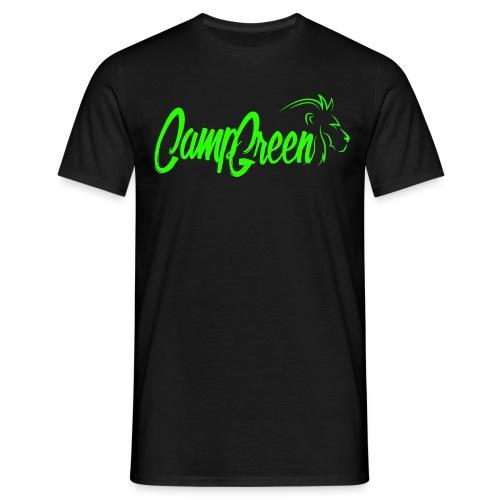 Camp Green Simple Logo Gr - Männer T-Shirt