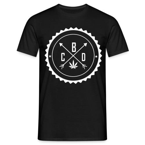 dessin logo cbd2vect - T-shirt Homme