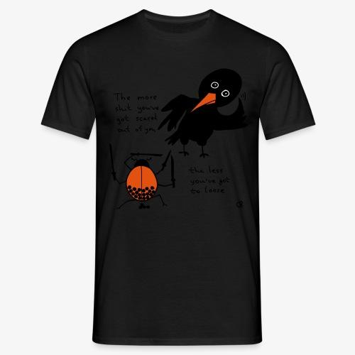 Bug and bird - Männer T-Shirt