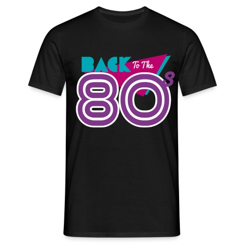 back to the 80 - Men's T-Shirt