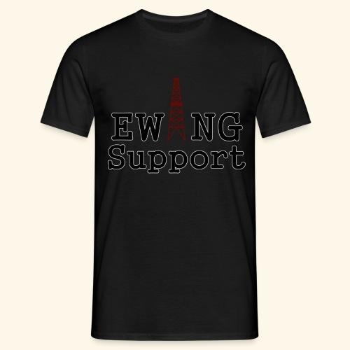 Ewing Support - Men's T-Shirt