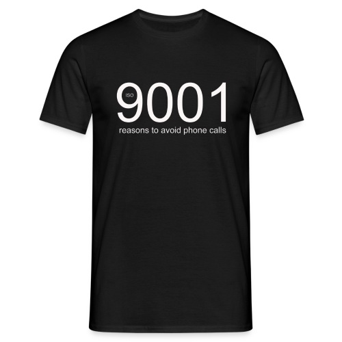 90001 resons to avoid using the phone png - Men's T-Shirt