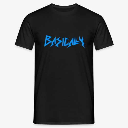Basically Blue Shirt - Men's T-Shirt
