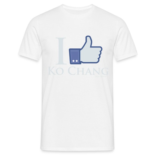 Like-Ko-Chang-White - Männer T-Shirt