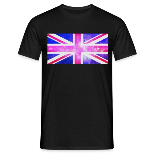union-jack-galaxy - Men's T-Shirt