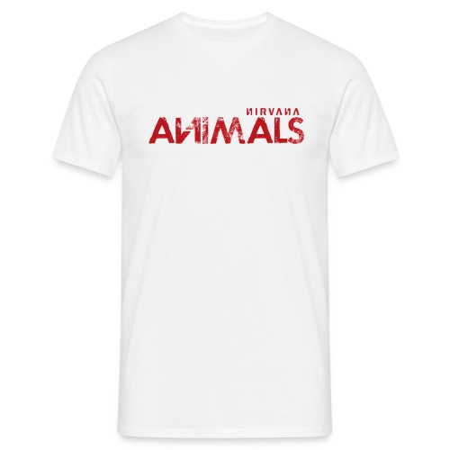 A N Shirt ANimals png - Men's T-Shirt