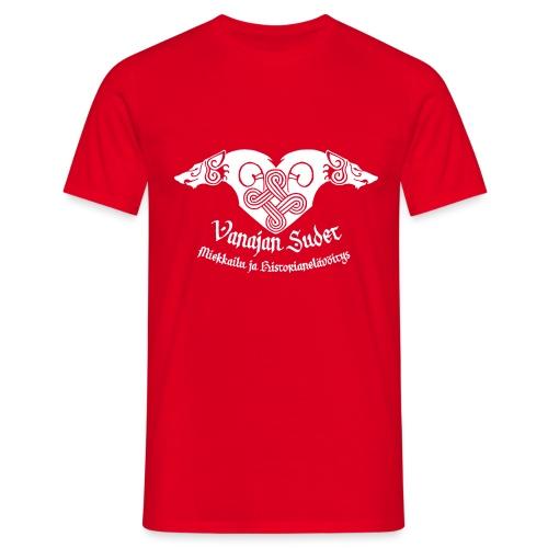 Vanajan Sudet Logo (valkoinen) - Miesten t-paita
