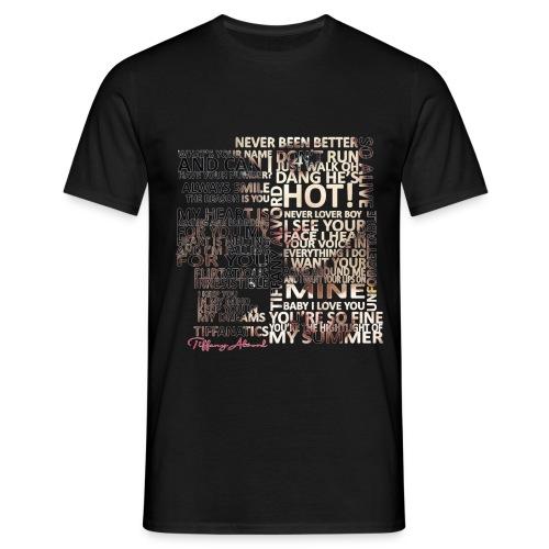 Tiffany Typography - Men's T-Shirt