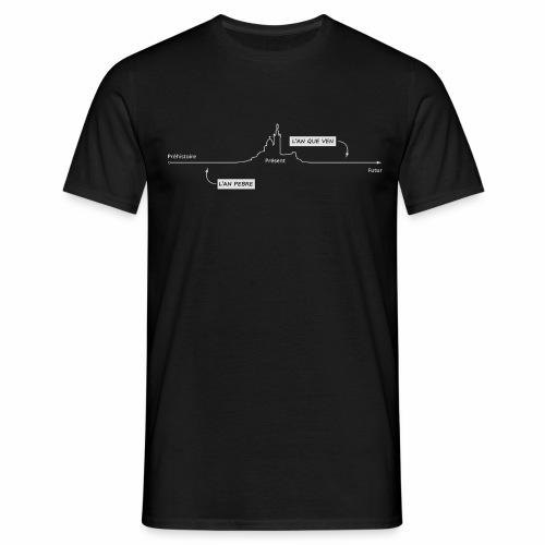 temps blanc png - T-shirt Homme