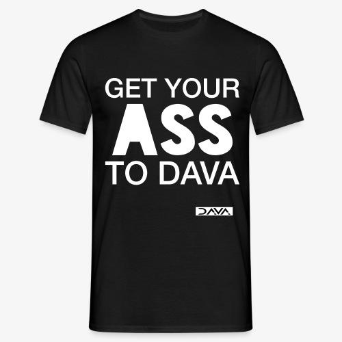 Move to DAVA - white - Men's T-Shirt