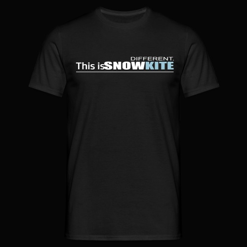 this is snowkite - T-shirt Homme