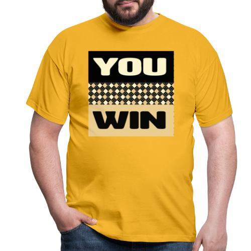 you win 1 - Men's T-Shirt