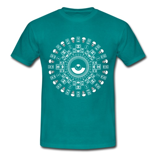 Speaker Mandala - Men's T-Shirt