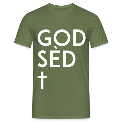 God sèd cross 2 svg - T-shirt Homme