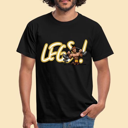 Time for a legday - Männer T-Shirt