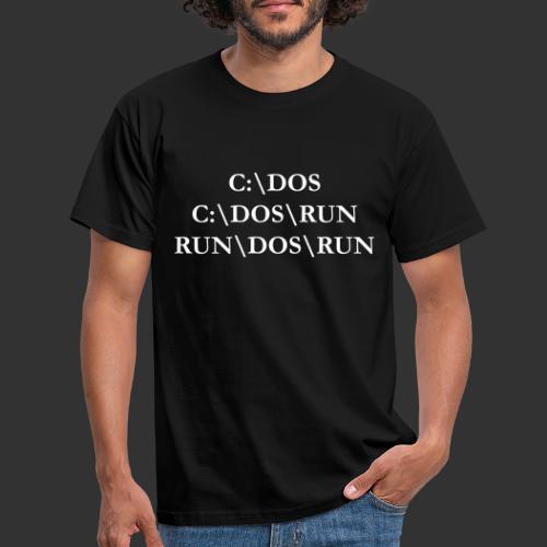 RUN\DOS\RUN - T-shirt herr