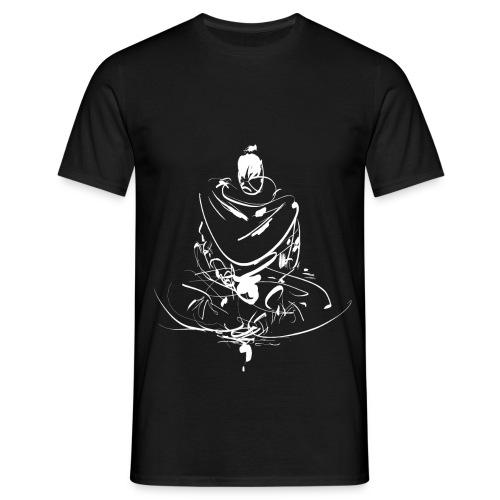 Iaido Samurai Zen Meditation - Men's T-Shirt
