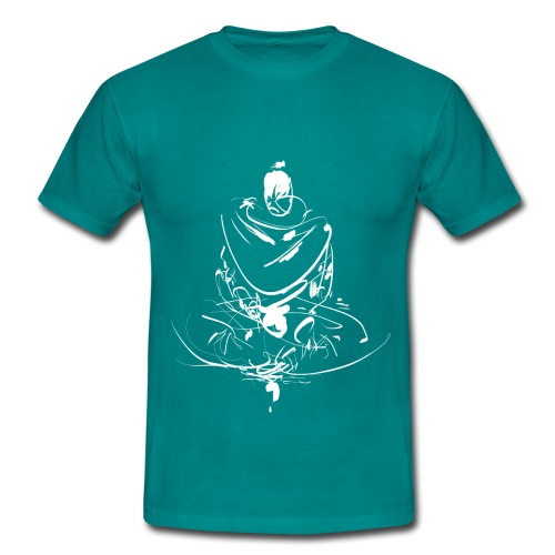 Iaido Samurai Zen Meditation - Men's T-Shirt