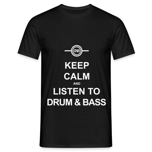 Keep Calm png - Männer T-Shirt