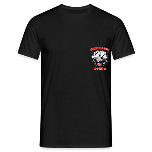 brustlogo aoz0158 - Männer T-Shirt