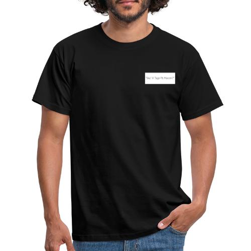 Ska' Vi Tage På Maccen? - Herre-T-shirt