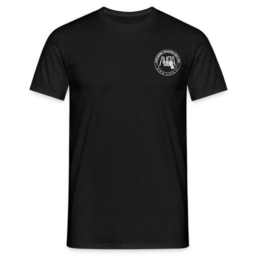 LOGO AUDA CON 1 bianco - Maglietta da uomo