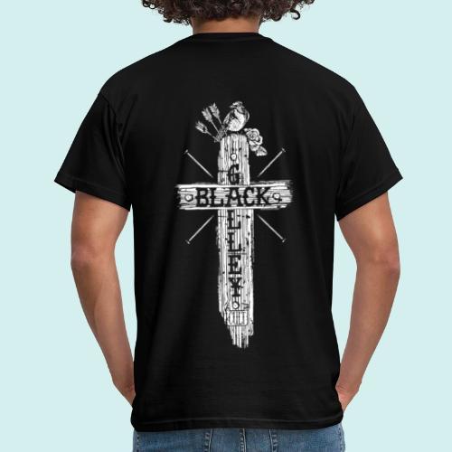 HELL apparel | BLACK GALLEY BAND MERCH | 2019 - Männer T-Shirt