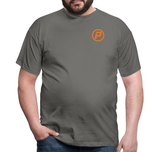 Polaroidz - Small Logo Crest | Orange - Men's T-Shirt