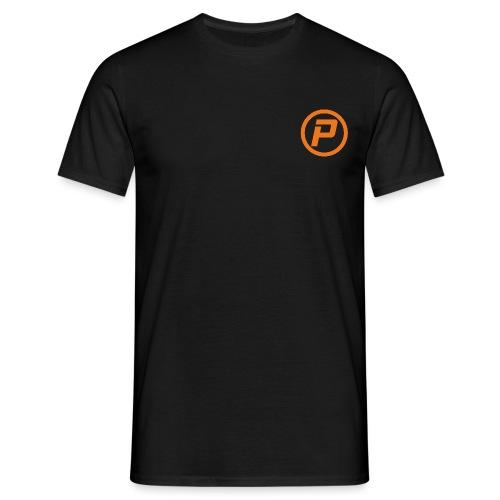 Polaroidz - Small Logo Crest | Orange - Men's T-Shirt