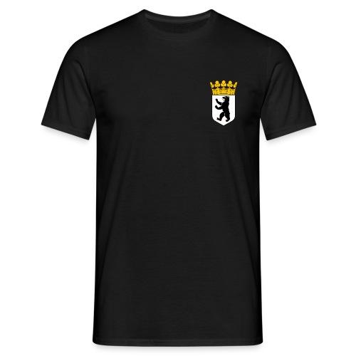 Berlin Wappen Klamotten - Männer T-Shirt
