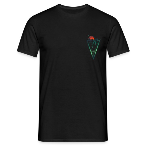 The mountains are calling - Mannen T-shirt