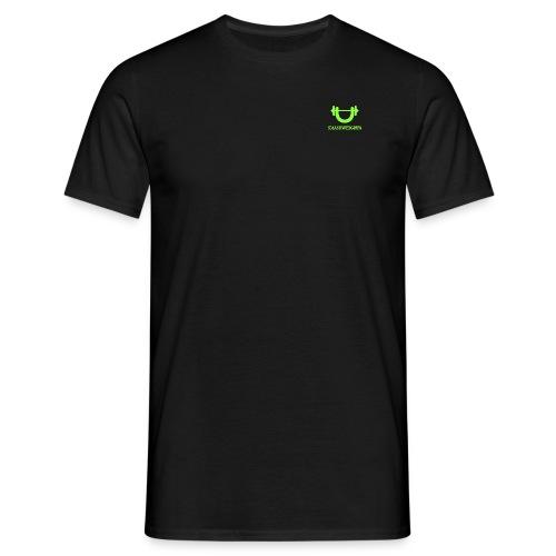 smash weights green png - Men's T-Shirt