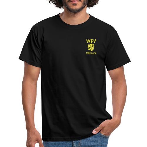 WFV Logo vorn und hinten - Männer T-Shirt